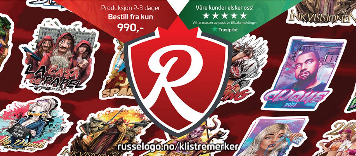 Russelogo.no ® - Klistremerker