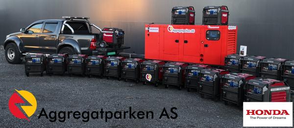 Aggregatparken AS - utleie av aggregater
