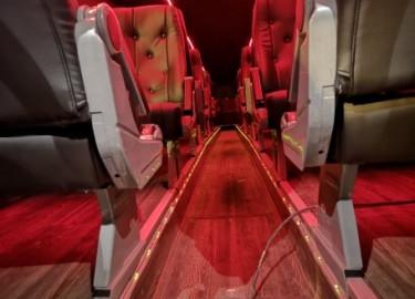 28 seter russebuss leies ut til en fordelaktig pris inkludert alt!