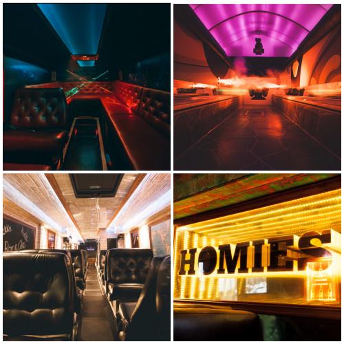 SPESIALLAGET BUSS - 15M buss levert komplett med lyd, lys og graffiti osv. FERDIG EU GODKJENT!