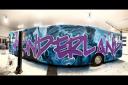 Fin og Feilfri 12 meter buss til salgs