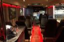 Fin, feilfri og rulleklar 12 meter buss til salgs