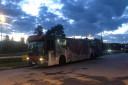 buss selges usedvanlig billig, men syk lounge. veldig bra potensiale