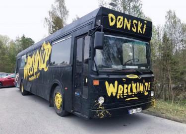 Oslo Vest damene selger den bredeste bussen som er tillatt på norske veier!