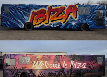 IBIZA 2020 SELGER STRØKEN 12,5m MERCEDES BENZ
