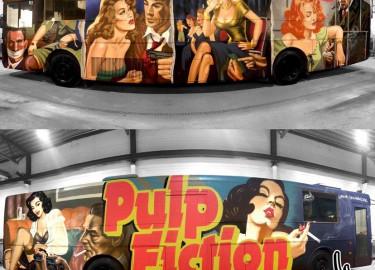 Pulp Fiction 2020 selger bussen!