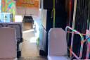 Utleie: leddbuss med stor lounge og 33 godkjente rulleplasser