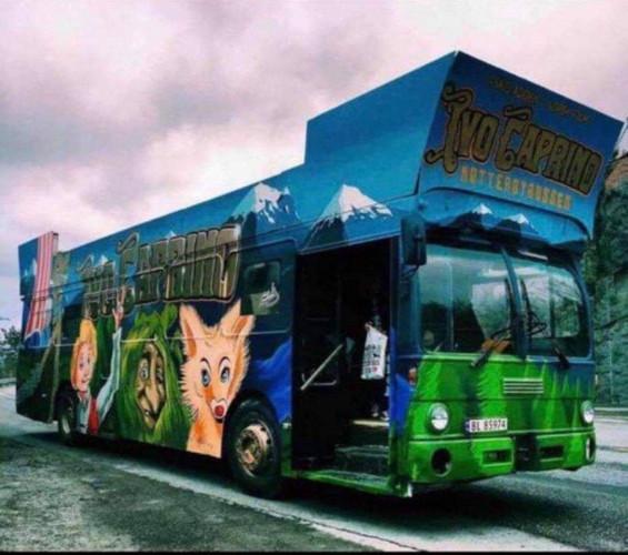 Sandvika 04 selger Biffen - Norges feiteste sidestilte buss