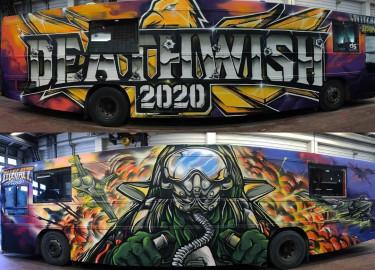Deathwish 2020 selger frisk 24 seter (Anlegg følger med)