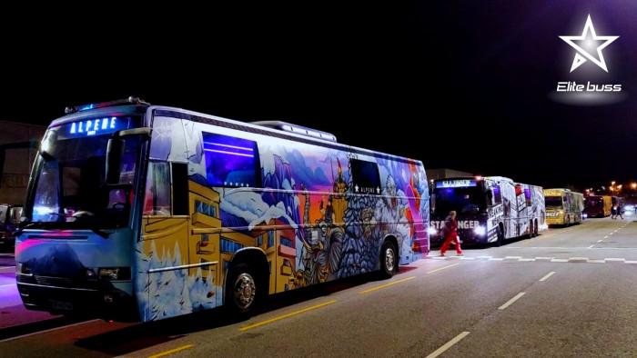 Scania kvaltitet bussen Leies for 2022/2023/2024