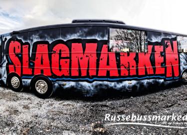 SLAGMARKEN 2020 SELGER HELT NY OG TOTALRENOVERT RUSSEBUSS 15M