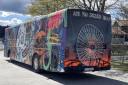Komplett 12,5 m russebuss med splitter nytt anlegg