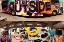 STEP OUTSIDE 2019 selger EU-godkjent buss 30+1